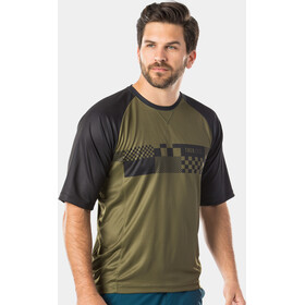 Bontrager Rhythm Tech T-shirt Heren, olive grey